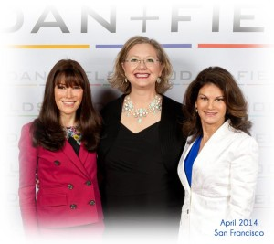 L to R: Dr. Katie Rodan, Kathleen Olivieri, Dr. Kathy Fields
