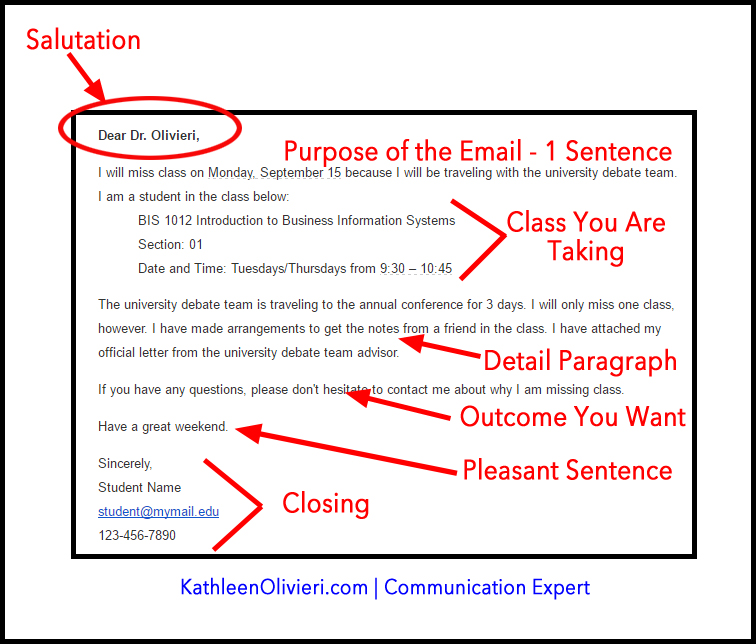 Professor email how to get a response communication coach m4hsunfo