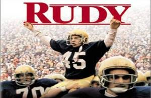 Rudy, the movie in 1993